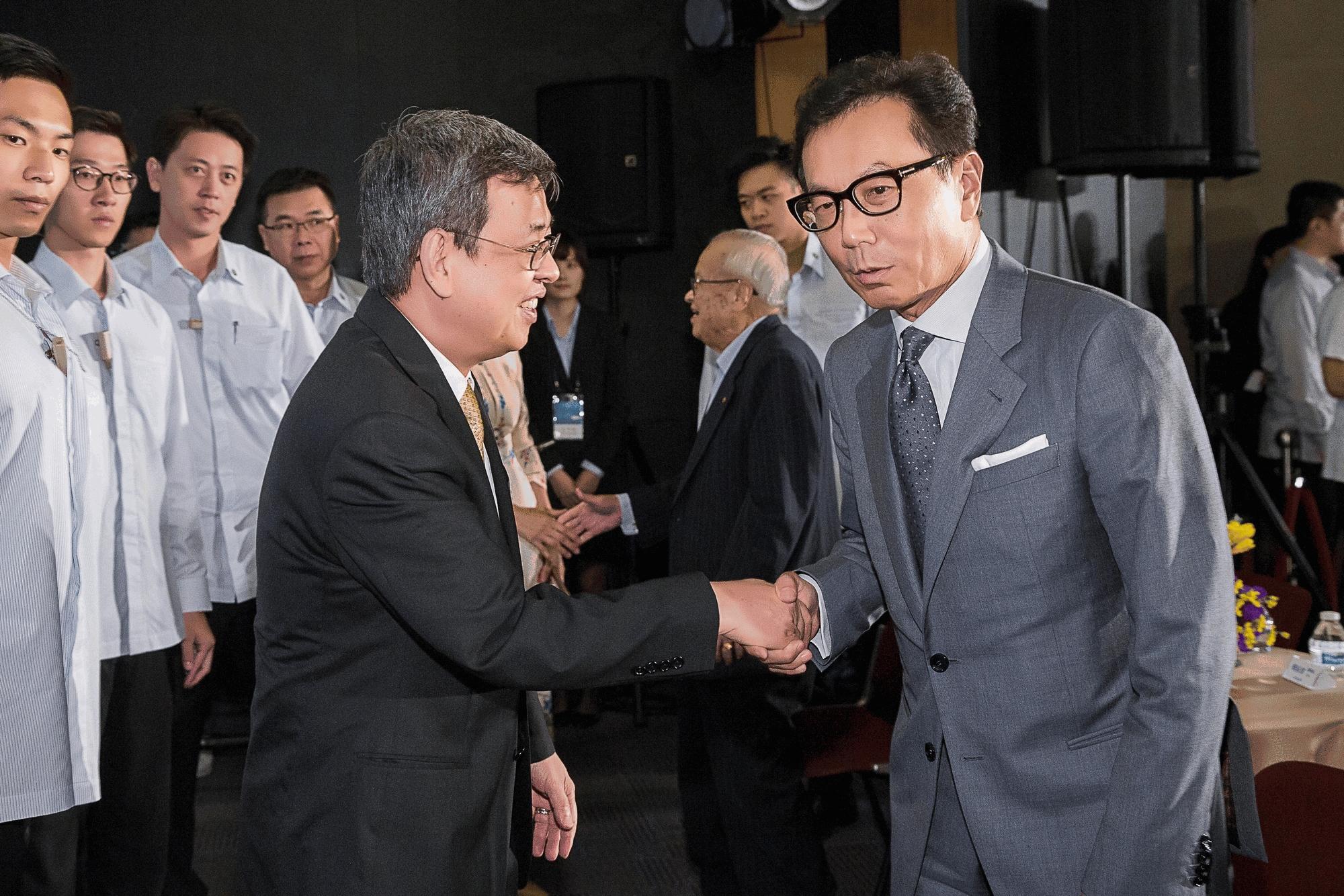 副總統 陳建仁先生 與 蔡明忠董事長