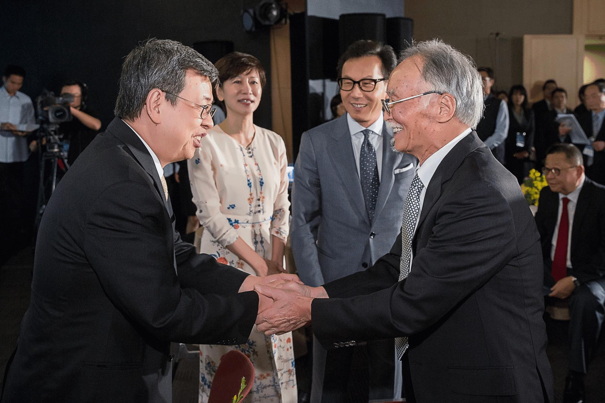 副總統 陳建仁先生 與 朱銘老師