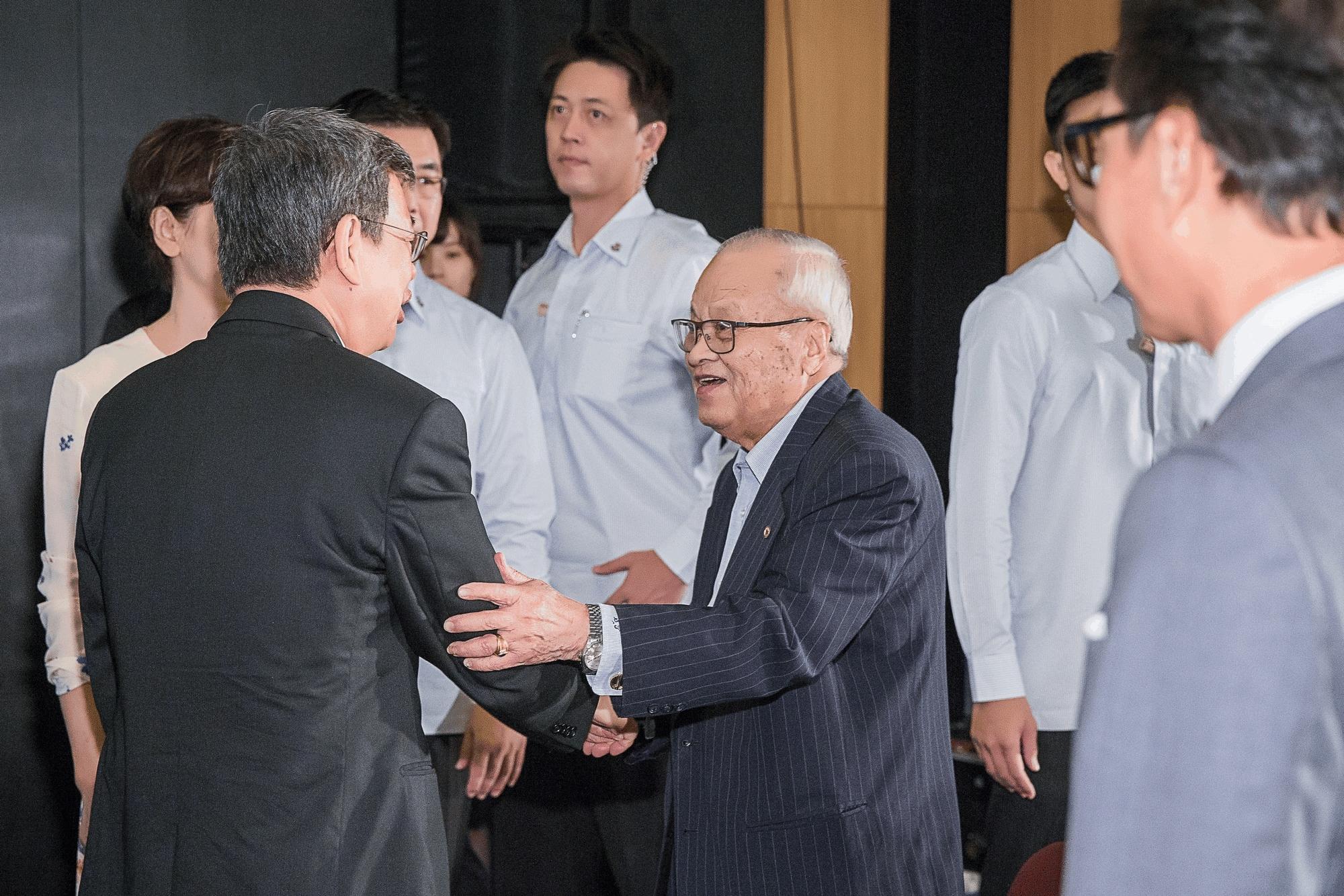 副總統 陳建仁先生 與 許水德董事長